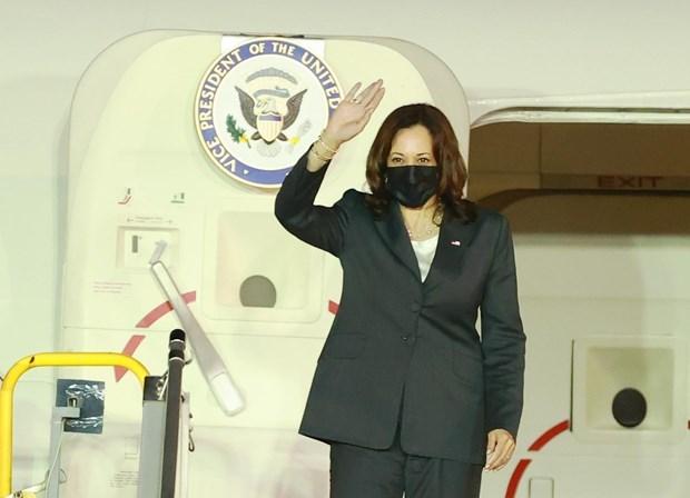 La vice-presidente americaine entame sa visite au Vietnam hinh anh 1