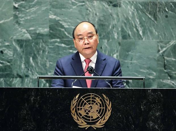 Allocution du president Nguyen Xuan Phuc au debat general de la 76e session de l'AG de l'ONU hinh anh 1