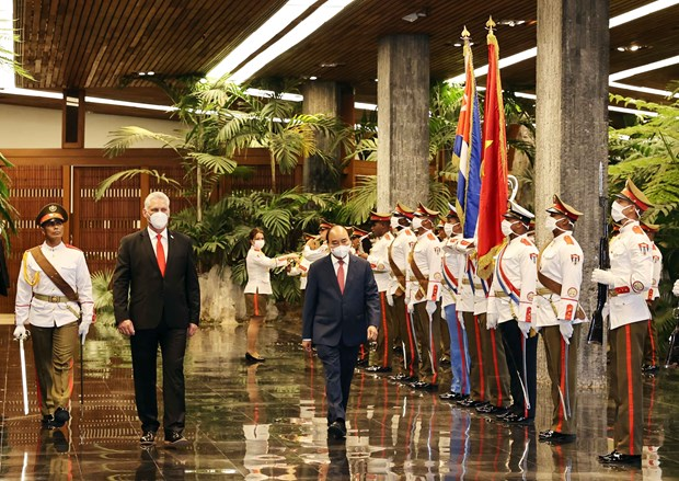 Le voyage d'affaires du president a atteint les objectifs fixes et apporte des resultats complets hinh anh 2