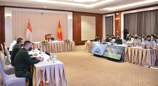 Le 12e Dialogue sur la politique de defense Vietnam-Singapour hinh anh 2
