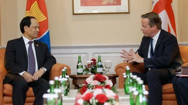 ASEAN et Royaume-Uni renforcent leur cooperation hinh anh 1