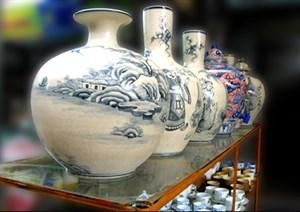 Une zone d'exposition de la ceramique de Bat Trang hinh anh 1