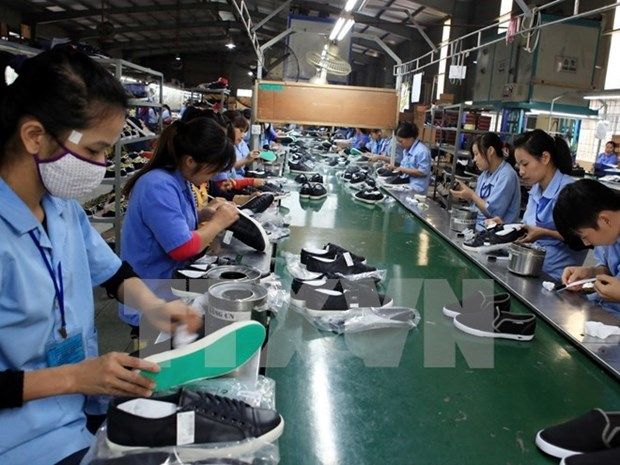 Bond des exportations nationales de chaussures aux Etats-Unis hinh anh 1