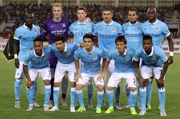 Manchester City heureux de son match amical avec le Vietnam hinh anh 1