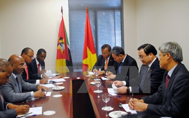 Le vice-PM Hoang Trung Hai termine sa visite officielle au Mozambique hinh anh 1
