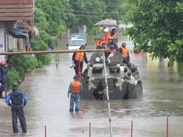 Crues: sympathie du Premier ministre laotien hinh anh 1