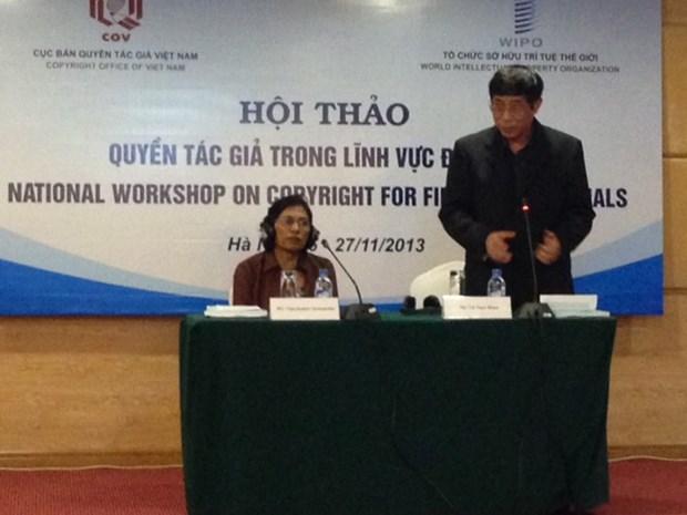 Seminaire sur la protection du droit d'auteur et droits connexes hinh anh 1