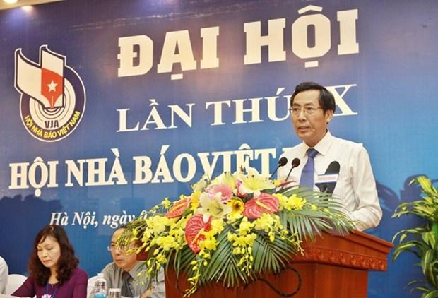 L'ouverture du Xe Congres de l'Association des journalistes du Vietnam hinh anh 1