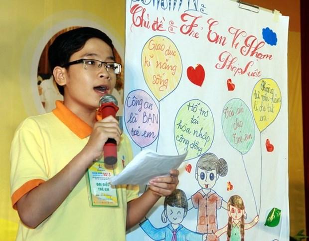4e Forum national des enfants : nombreuses recommandations sur leurs droits hinh anh 1