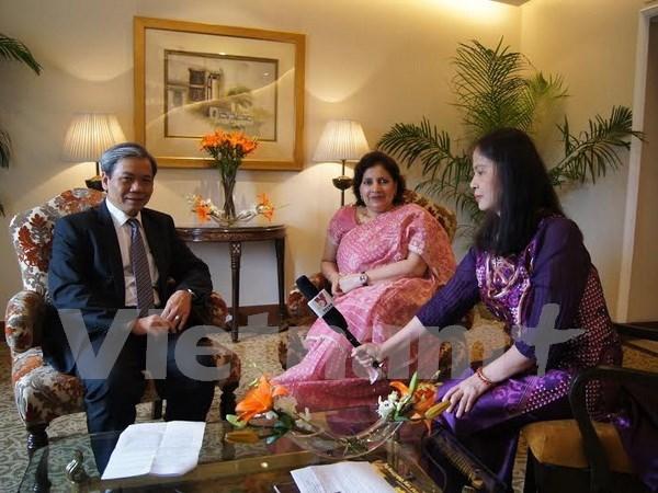 Les relations Vietnam-Inde se developpent heureusement hinh anh 1