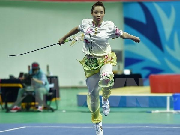 Wushu: le Vietnam se classe 3e aux Championnats d'Asie junior hinh anh 1