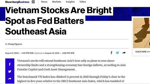Bloomberg : le marche boursier vietnamien est en plein essor hinh anh 1