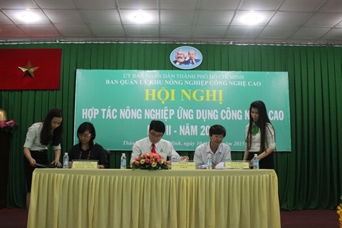 Cooperer pour developper l'agriculture high-tech hinh anh 1