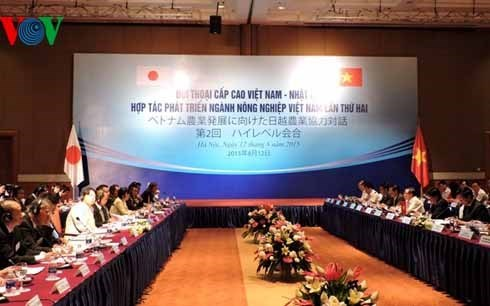 Dialogue Vietnam-Japon sur la cooperation dans l'agriculture hinh anh 1
