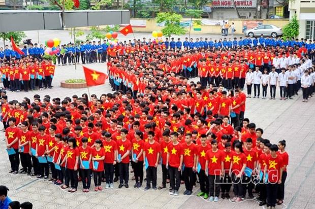 12.000 jeunes formeront l'image de la carte du pays hinh anh 1