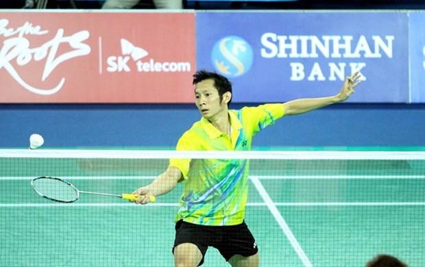 Badminton: Tien Minh se qualifie pour le 3e tour des Championnats du monde 2015 hinh anh 1