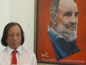 Un cadeau vietnamien a Fidel Castro pour son anniversaire hinh anh 1