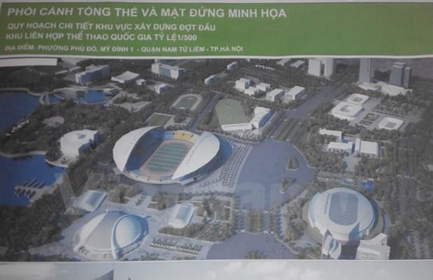 Planification de detail pour le Complexe national des sports de My Dinh hinh anh 1