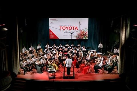Le Concert Toyota 2015 a eu lieu a Thanh Hoa hinh anh 1