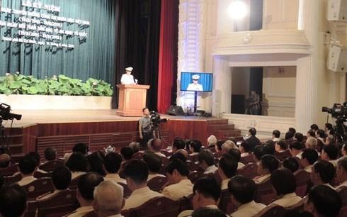 La 70e Journee traditionnelle de la police populaire celebree a HCM-Ville hinh anh 1