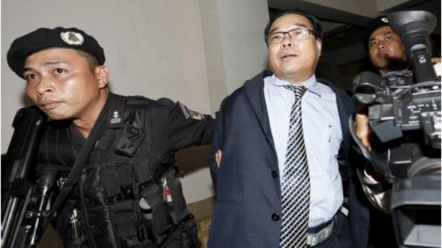 Cambodge : mise en examen du senateur Hong Sok Hour hinh anh 1