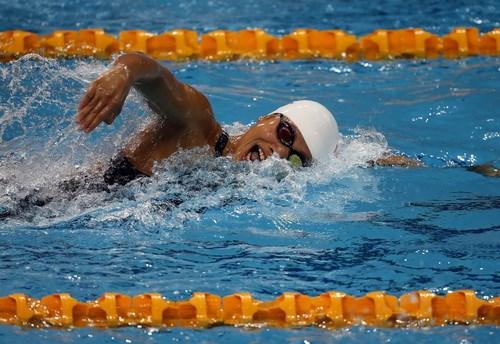 Natation: une nouvelle medaille de bronze pour Anh Vien hinh anh 1
