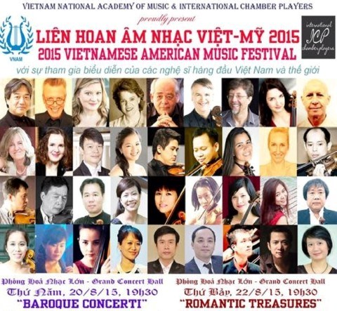 Festival de musique Vietnam-Etats-Unis 2015 hinh anh 1