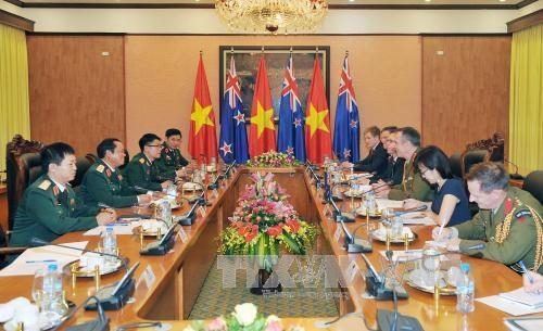 Defense: Vietnam et Nouvelle-Zelande promeuvent leur cooperation hinh anh 1