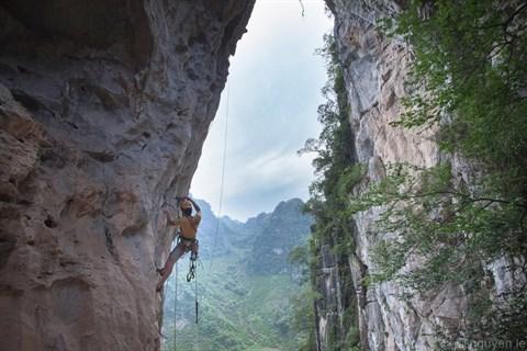 «Pour les Vietnamiens, l'escalade est un loisir, pas un sport» hinh anh 1