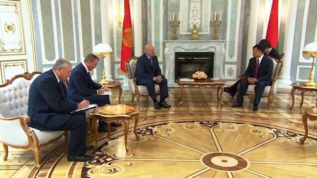 La Bielorussie s'interesse a elargir la cooperation avec le Vietnam hinh anh 1