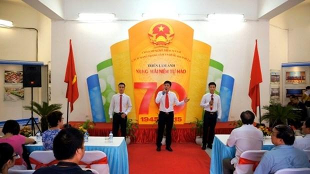 Ouverture de l'exposition de photos «Rayonnement de l'heroisme vietnamien» hinh anh 1
