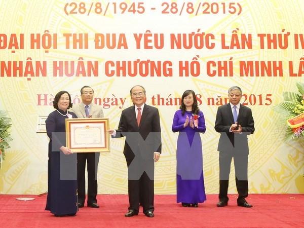 Celebration des 70 ans du secteur du travail, des invalides et des affaires sociales hinh anh 1