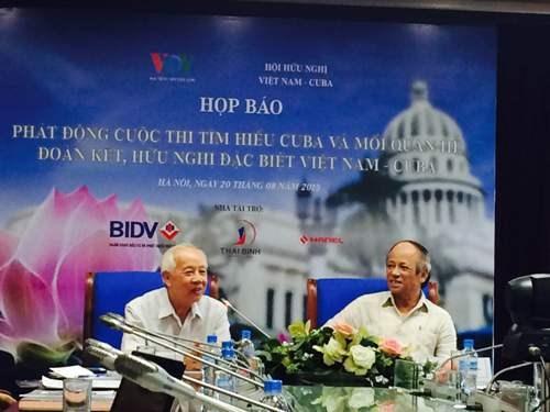 Lancement d'un concours sur les relations Vietnam-Cuba hinh anh 1
