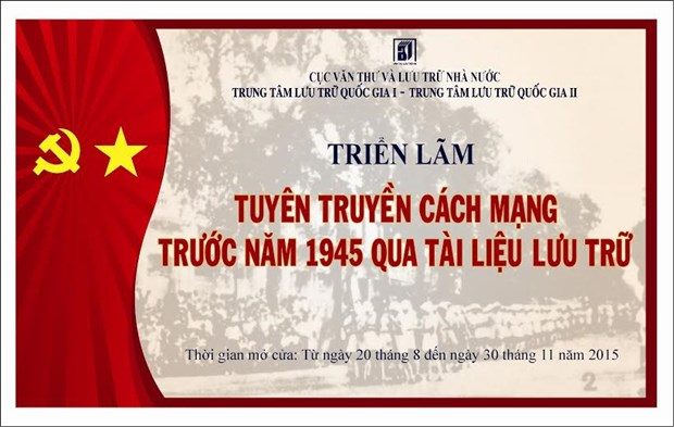 «Sensibiliser a la revolution avant 1945 a travers les archives» hinh anh 1