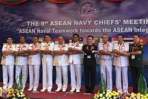 La 9e reunion des commandants navals de l'ASEAN hinh anh 1