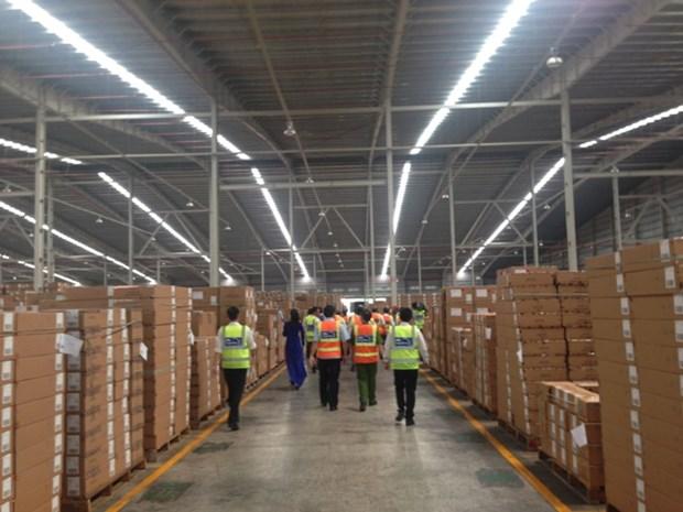 Inauguration du plus grand entrepot logistique en Asie du Sud-Est hinh anh 1