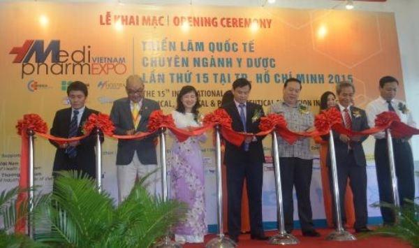 Ouverture de Vietnam Medi-Pharm Expo a Ho Chi Minh-Ville hinh anh 1