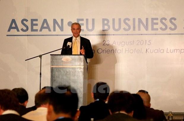 Le 4e Sommet d'affaires ASEAN-UE s'ouvre en Malaisie hinh anh 1