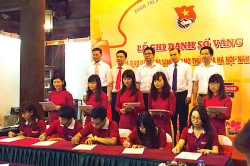 Les premiers laureats des universites et instituts de Hanoi honores hinh anh 1