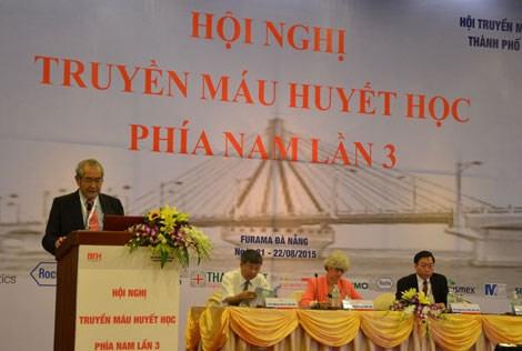 Conference sur l'hematologie et la transfusion sanguine a Da Nang hinh anh 1