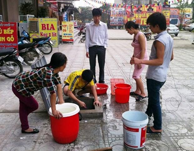 Bientot une grande nouvelle usine d'eau a Hanoi hinh anh 1