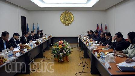 Renforcement de la cooperation Vietnam-Cambodge hinh anh 1