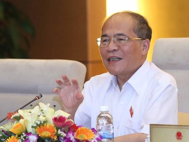 Nguyen Sinh Hung participera a la Conference mondiale des Presidents de Parlement hinh anh 1