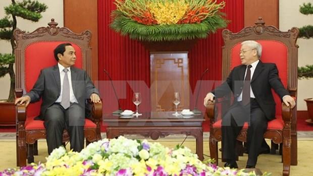 Vietnam et Laos accelerent la cooperation dans l'inspection hinh anh 1