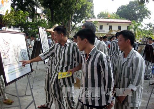 Ouverture d'une exposition sur Hoang Sa et Truong Sa a Thai Nguyen hinh anh 1