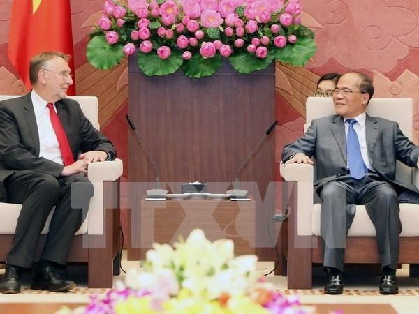 Le Vietnam appelle le PE a soutenir la signature de l'accord de libre-echange avec l'UE hinh anh 1