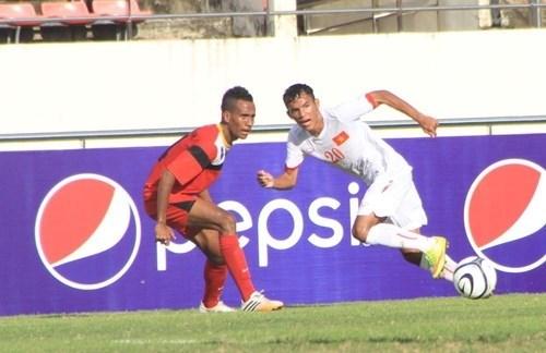 Football : le Vietnam bat le Timor-leste au Championnat U19 d'Asie du Sud-Est hinh anh 1