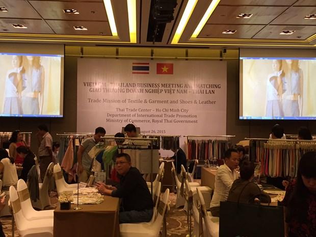 Programme de match-meeting entre entreprises vietnamiennes et thailandaises hinh anh 1