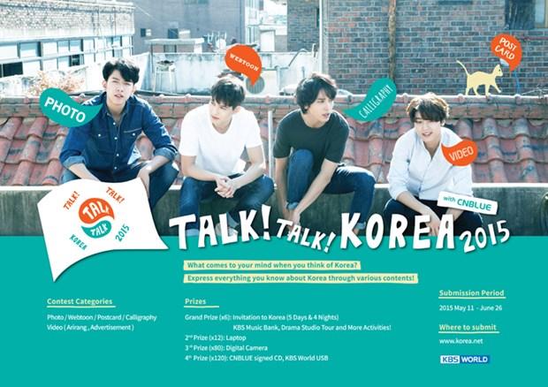 Talk! Talk! Korea : la Coree vue par le monde hinh anh 1
