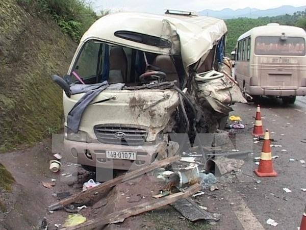 Baisse des accidents de circulation ces huit derniers mois hinh anh 1